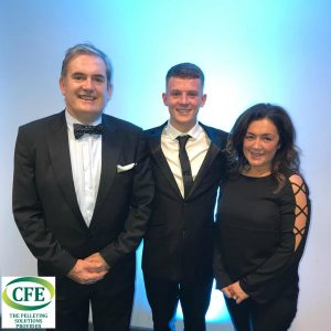 CFE Team at St Helens Business Awards 2018
